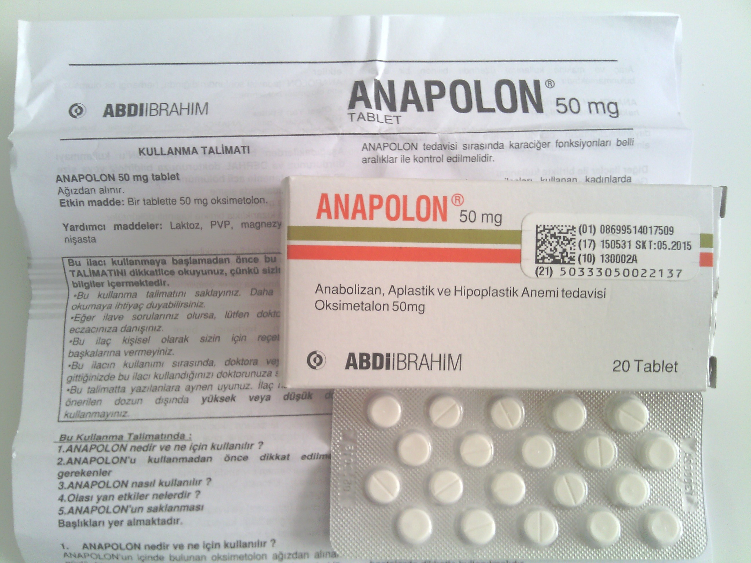 anapolon testosterone stack